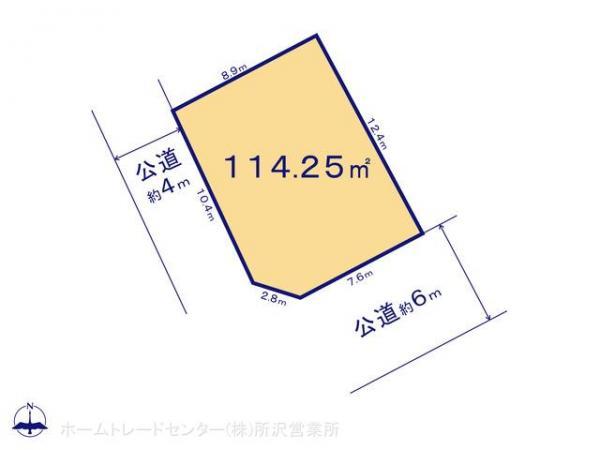 土地 埼玉県狭山市大字水野335-8 西武新宿線入曽駅 2000万円