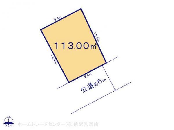 土地 埼玉県狭山市大字水野335-8 西武新宿線入曽駅 1900万円