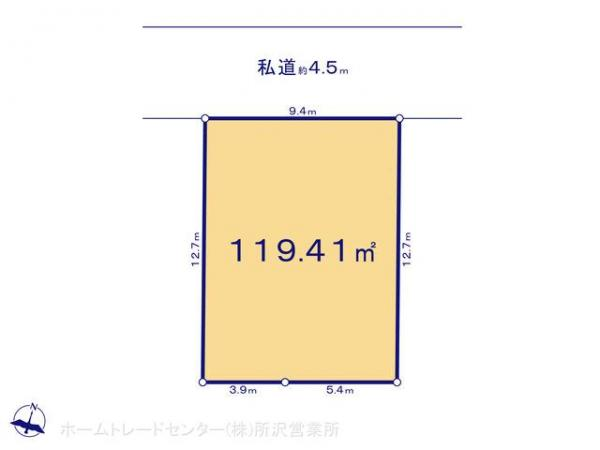 土地 埼玉県坂戸市関間3丁目158-1 東武東上線若葉駅 1680万円