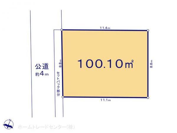土地 東京都国分寺市富士本3丁目20-7 JR中央線国立駅 3280万円