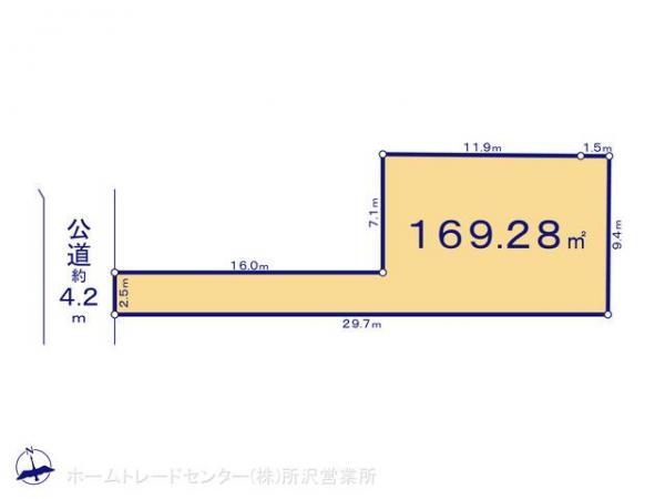 土地 埼玉県所沢市所沢新町2543-1 西武新宿線新所沢駅 2080万円