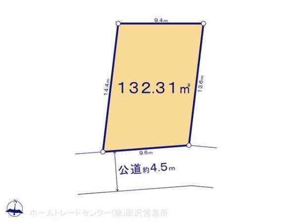 土地 埼玉県所沢市大字牛沼362-5 西武池袋線所沢駅  2490万円