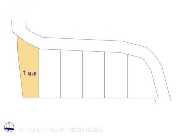 新築戸建 東京都東大和市奈良橋5丁目781-1 西武拝島線東大和市駅 3180万円