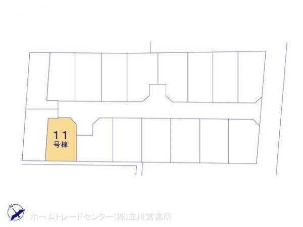 新築戸建 東京都昭島市緑町2丁目3291 JR青梅線昭島駅 3750万円