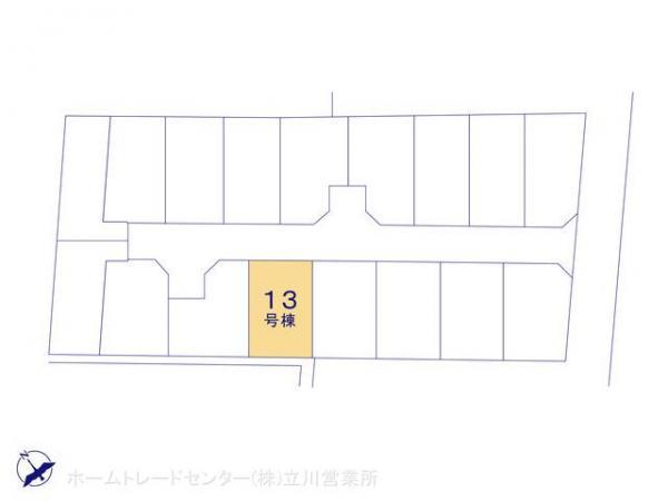新築戸建 東京都昭島市緑町2丁目3291 JR青梅線昭島駅 3840万円