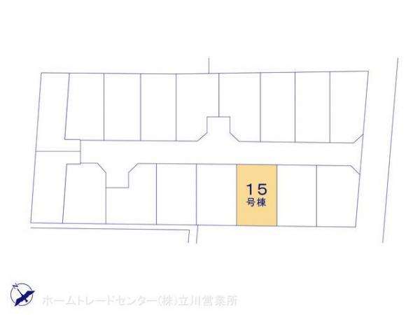 新築戸建 東京都昭島市緑町2丁目3303-1 JR青梅線昭島駅 3850万円