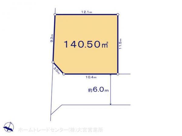 土地 埼玉県上尾市大字上656-1 JR高崎線北上尾駅 1980万円