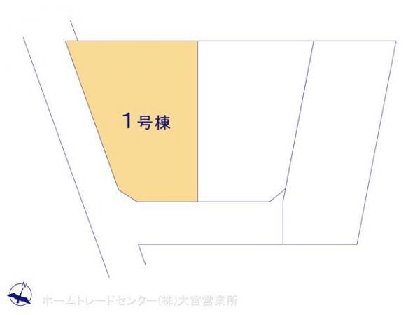新築戸建 埼玉県上尾市大字平塚822 JR高崎線上尾駅 3198万円