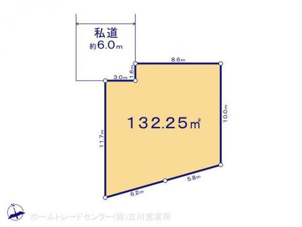 土地 東京都八王子市横川町650-1 JR中央線西八王子駅 1980万円