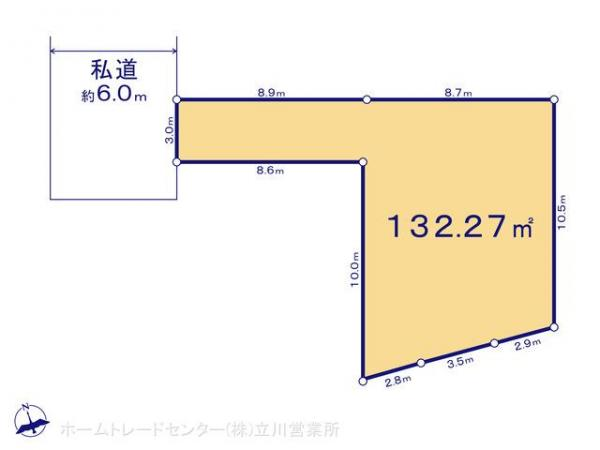 土地 東京都八王子市横川町650-1 JR中央線西八王子駅 1780万円