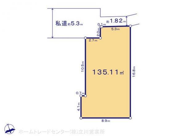 土地 東京都八王子市横川町650-1 JR中央線西八王子駅 2080万円