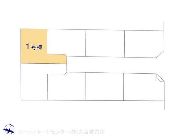 新築戸建 埼玉県さいたま市中央区上峰4丁目415 JR埼京線与野本町駅 3790万円