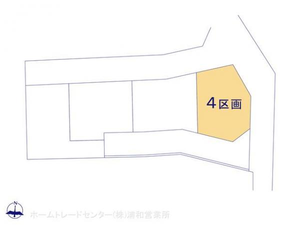 土地 埼玉県さいたま市南区大字大谷口1902-1 JR武蔵野線東浦和駅 1970万円