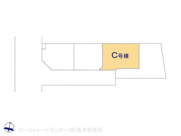 新築戸建 東京都葛飾区奥戸5丁目19 JR総武本線新小岩駅 4390万円