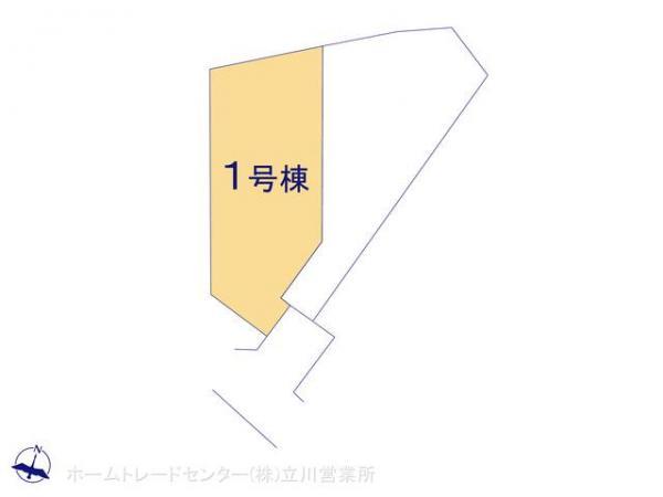 新築戸建 東京都昭島市拝島町4丁目3-7 JR青梅線昭島駅 3180万円
