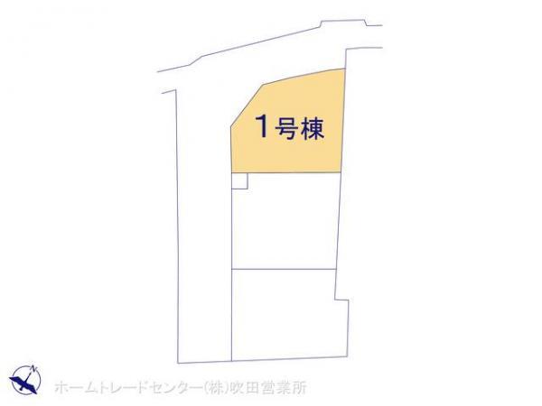 新築戸建 大阪府茨木市上野町164-5 東海道本線茨木駅 3280万円