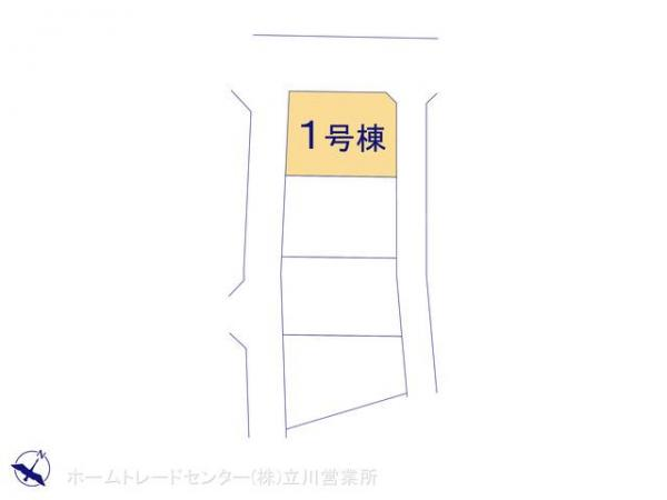 新築戸建 東京都青梅市藤橋2丁目54-1 JR青梅線河辺駅 2680万円