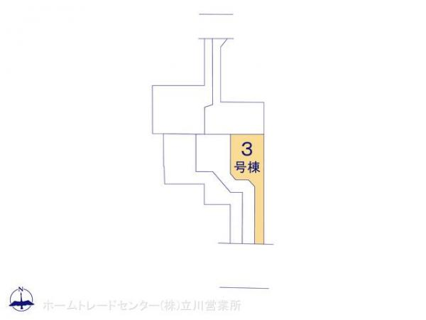新築戸建 東京都八王子市平岡町8-3 JR中央線西八王子駅 3480万円