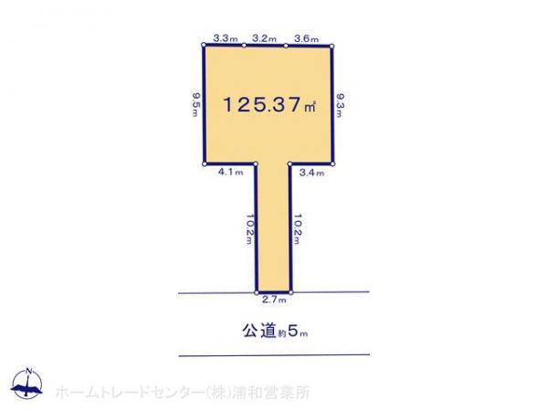 土地 埼玉県川口市大字東本郷1647-1 JR京浜東北線川口駅 1899万円