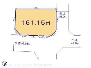 土地 埼玉県日高市大字中鹿山440-1 JR八高線(八王子〜高麗川)高麗川駅 12000000