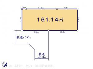 土地 埼玉県日高市大字中鹿山440-1 JR八高線(八王子〜高麗川)高麗川駅 9900000
