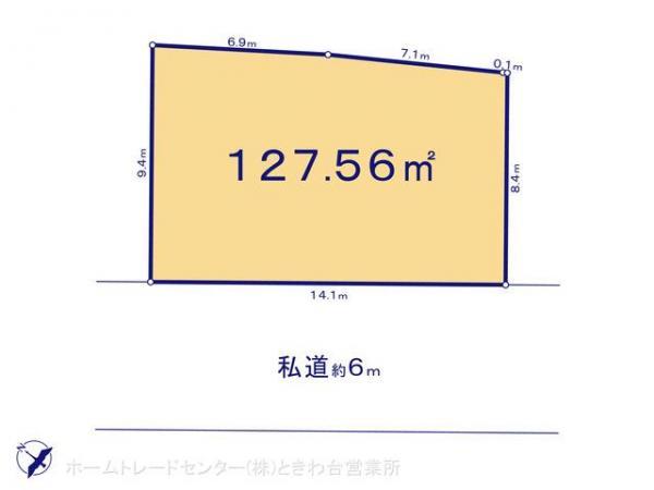 土地 埼玉県富士見市大字水子1861-1 東武東上線みずほ台駅 2430万円