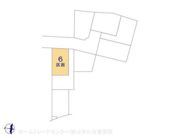 土地 埼玉県富士見市羽沢2丁目4 東武東上線鶴瀬駅 2050万円