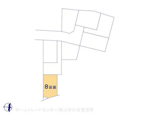 土地 埼玉県富士見市羽沢2丁目4 東武東上線鶴瀬駅 1950万円