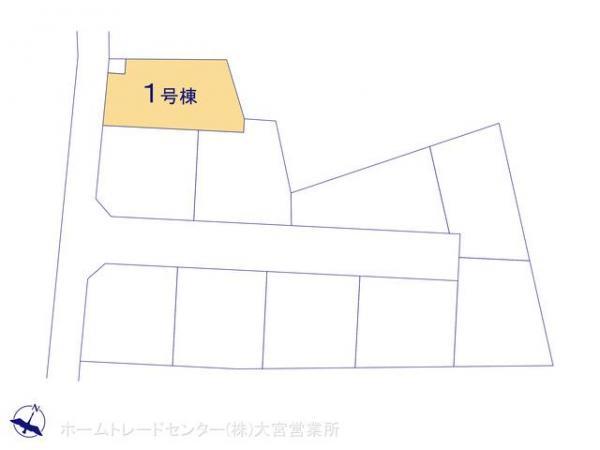 新築戸建 埼玉県上尾市大字上659-1 JR高崎線北上尾駅 2480万円