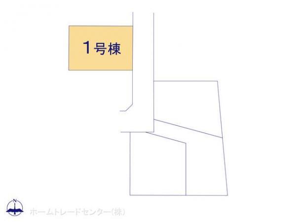 新築戸建 東京都小平市中島町13-12 西武拝島線東大和市駅 3380万円