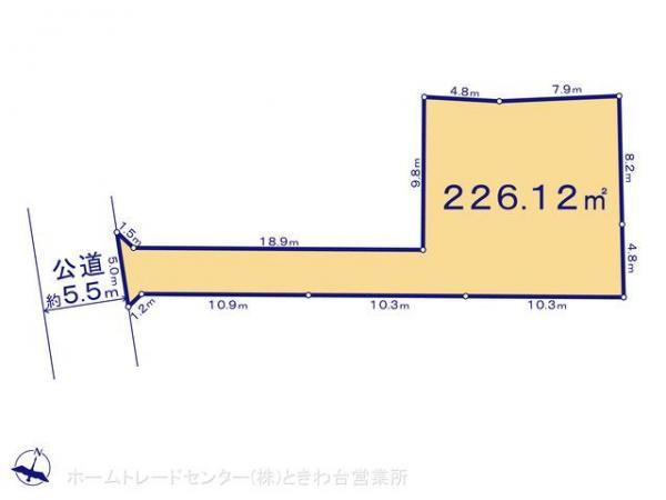 土地 埼玉県富士見市大字上南畑327-2 東武東上線志木駅 1880万円