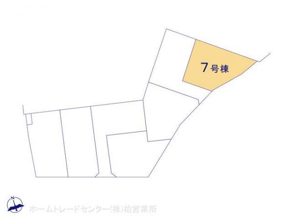 新築戸建 千葉県松戸市上矢切412-3 北総鉄道矢切駅 2180万円