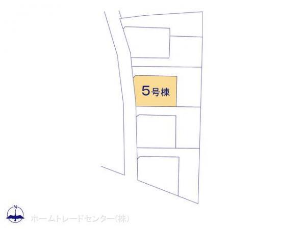 新築戸建 東京都昭島市中神町2丁目280-1 JR青梅線東中神駅 3580万円
