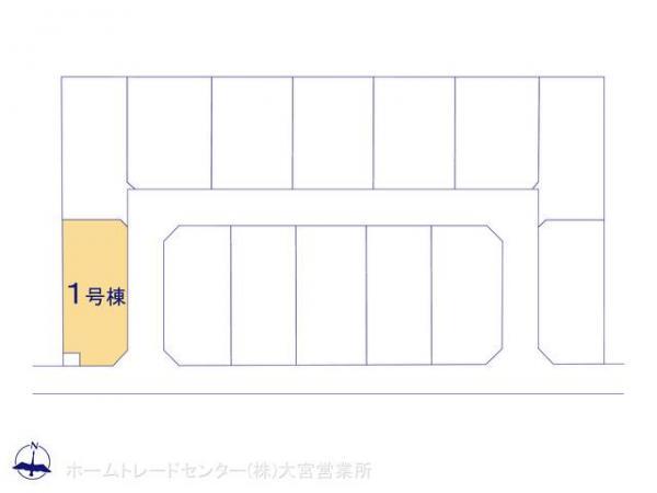 新築戸建 埼玉県鴻巣市袋665-1 JR高崎線北鴻巣駅 2090万円