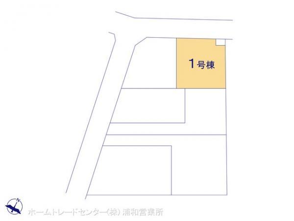 新築戸建 埼玉県さいたま市緑区大字三室2070-1 京浜東北・根岸線北浦和駅 3240万円