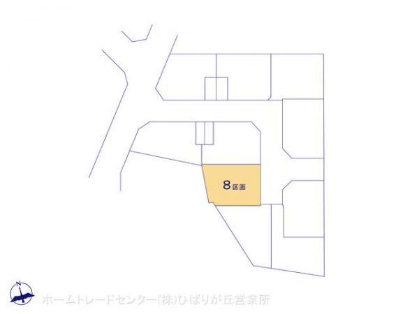 土地 東京都東久留米市幸町4丁目9 西武池袋線清瀬駅 2480万円