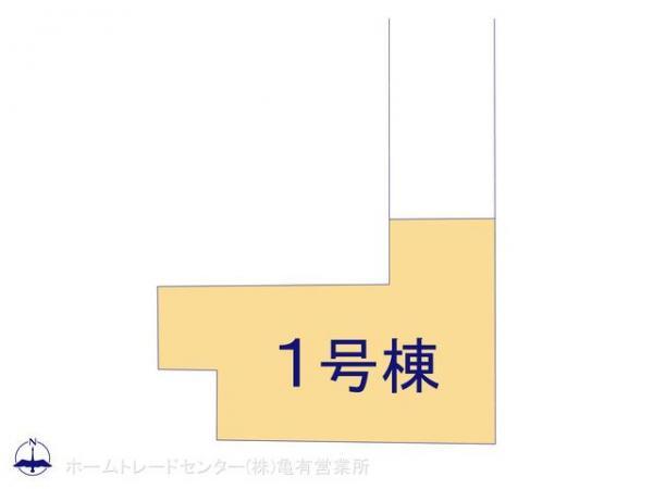 新築戸建 東京都葛飾区宝町2丁目6-6 京成本線お花茶屋駅 4490万円