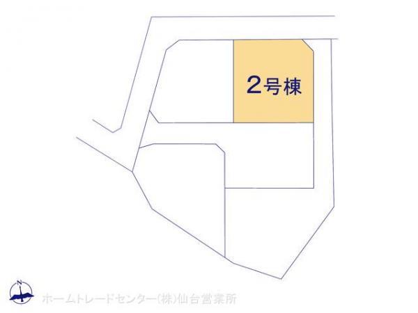 新築戸建 宮城県塩竈市舟入2丁目51-12 JR仙石線本塩釜駅 2480万円