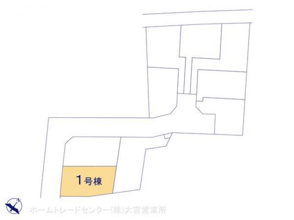 新築戸建 埼玉県上尾市大字平方2111-4 JR高崎線上尾駅 2580万円