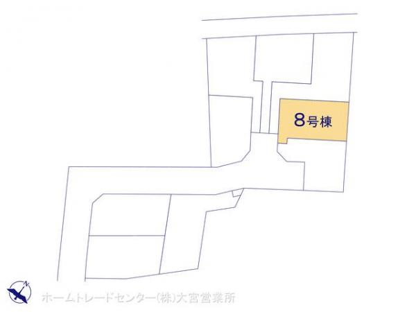 新築戸建 埼玉県上尾市大字平方2111-16 JR高崎線上尾駅 2480万円
