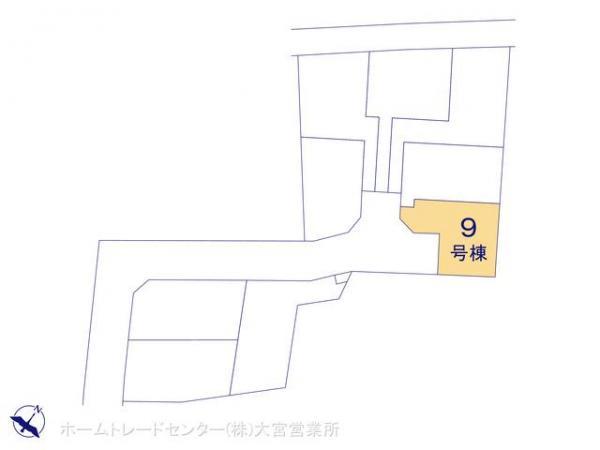 新築戸建 埼玉県上尾市大字平方2111-18 JR高崎線上尾駅 2530万円
