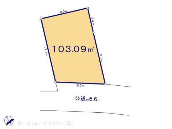 土地 東京都調布市染地1丁目18-3 京王線調布駅 3460万円