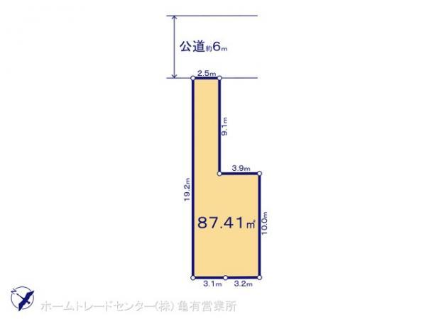 土地 千葉県市川市福栄3丁目13-2 東京地下鉄東西線南行徳駅 3880万円