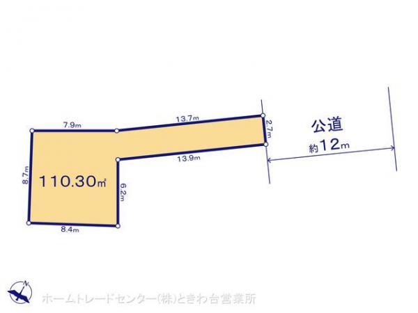 土地 埼玉県富士見市山室2丁目2-28 東武鉄道東上線鶴瀬駅 1789万円
