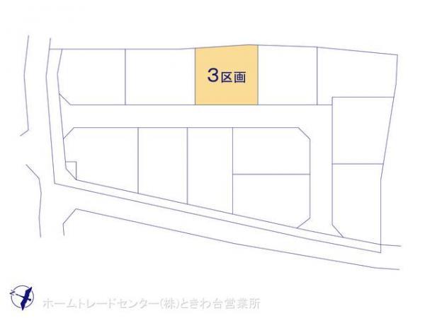土地 埼玉県富士見市山室2丁目1407 東武鉄道東上線鶴瀬駅 2580万円