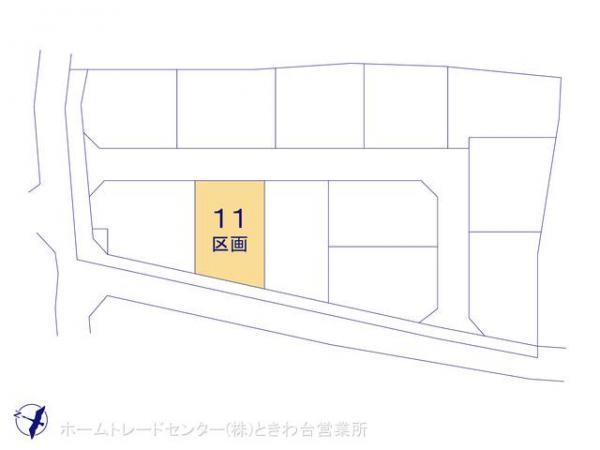 土地 埼玉県富士見市山室2丁目1407 東武鉄道東上線鶴瀬駅 2680万円