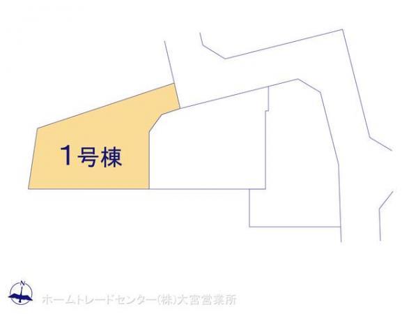 新築戸建 埼玉県上尾市大字平塚1980-19 高崎線上尾駅 2690万円