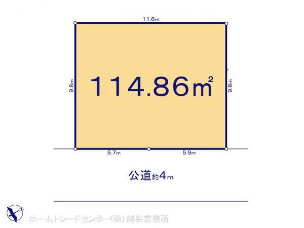 土地 埼玉県春日部市上蛭田64-14 東武鉄道野田線豊春駅 1880万円
