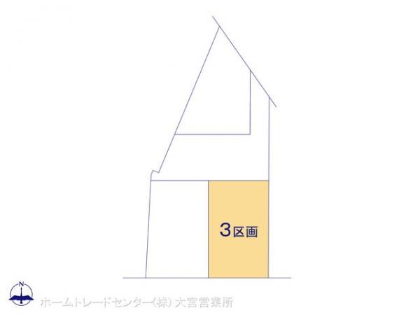 土地 埼玉県鴻巣市下忍4038-1 高崎線吹上駅 1799万円