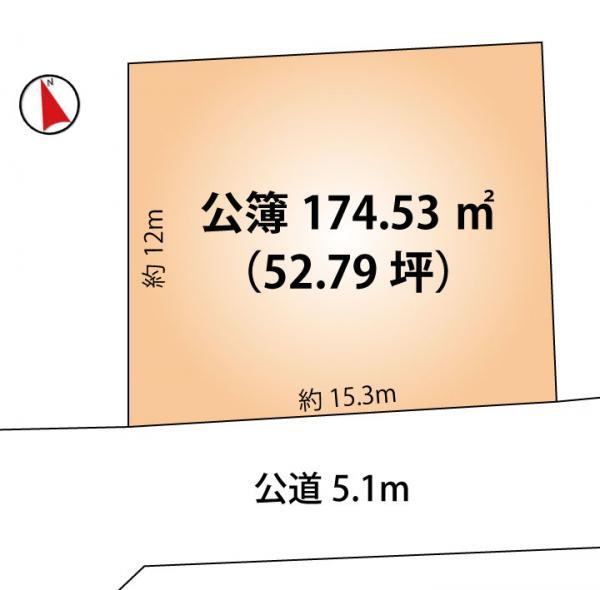 土地 船橋市大穴南1丁目32-15 新京成電鉄線滝不動駅駅 1580万円
